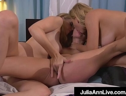 3Way Milf Fuck Fest! Julia Ann Cherie Deville and Aaliyah Love