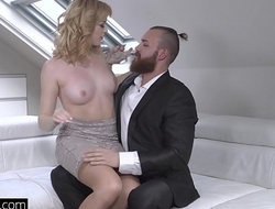 Glamkore - Euro Babe Anny Aurora Sensual Thing embrace with hubby