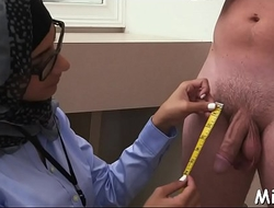 Doggy-style fuck for an arab girl