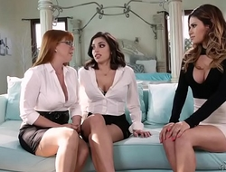 You're a lesbian? Prove it. - Penny Pax, Vanessa Veracruz and Darcie Dolce