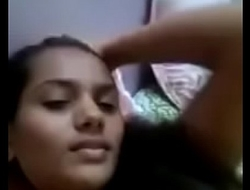 College girl shows boobs for her boyfriend