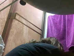 My mom caught by hidden cam in the shower PART9