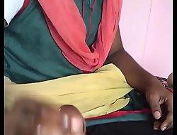 Indian crumpet daughter doing hand job PORN MOVIE