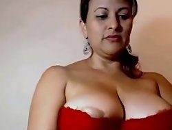 My Aunty Showing their way beautiful juicy heavy knockers