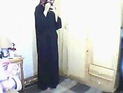 Arab explicit orison then masturbating