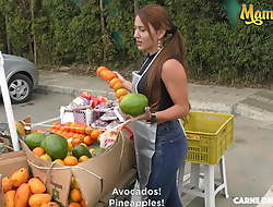 MAMACITAZ - Amateur Latina Melissa Lujan Loves Sex Aloft Cam